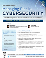 Managing Risk in CyberSecurity Conference