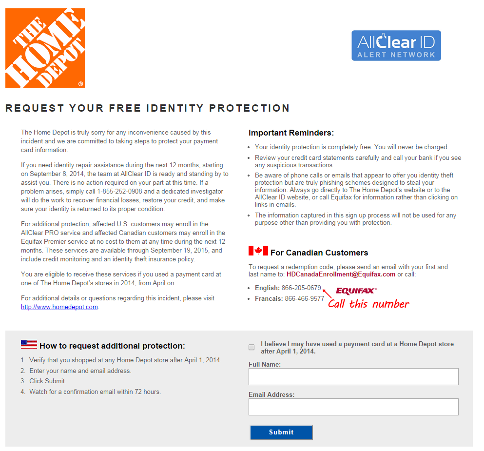 How Canadians Can Sign up For Free Identity Protection